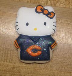 Hello Kity in Bears jersey