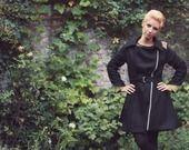 Manteau Absinthe ZAWANN créateur de mode made in France : Manteau, Blouson, veste par zawann