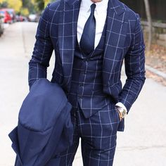 @absolutebespoke #winter #checks #threepiece #suit #coat all by #absolutebespoke