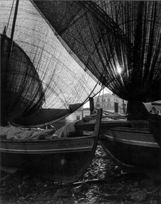 """Wolfgang Suschitzky Madeira, 1952 """"A fishing village not far from the capital Funchal, called Camara de Lobos. We were working on a film about the island, in 3D. The camera used was primitive and was designed by Charles Smith, who was with us. He later became a recognised authority on 3D filming."""""""