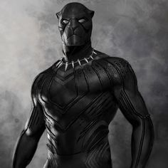 The Head of Visual Development at Marvel Studios has revealed an early, unused design for Killmonger's suit in Black Panther. Marvel Dc, Marvel Films, Marvel Comic Universe, Marvel Characters, Marvel Heroes, Cartoon Characters, Black Panther Marvel, Film Black Panther, Gi Joe