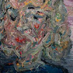 "Vanessa Prager, Grey Moon, 2015 - From ""Dreamers""  @Richard Heller Gallery, 2015"