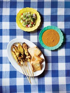 Thai Pork Satay, this is the recipe from Pok Pok by celeb chef Andy Ricker. #thai #pork
