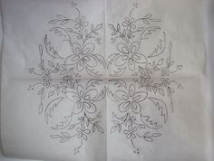 Gooogoook Cutwork Embroidery, Embroidery Patterns, My Design, Floral Design, Coloring, Just For You, Couture, Ornaments, Drawings