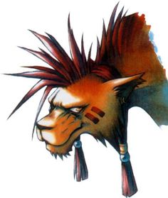 Final Fantasy VII - Concept Art Mon - Red XIII