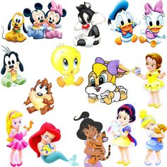 Disney Cartoons Characters Names
