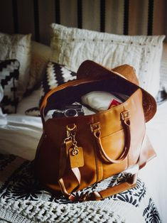 4afebf297ada Get ready for whatever the weekend has in store with  birdieshoot s Leather  Weekender bag.