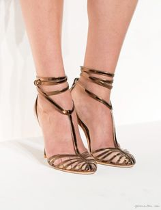 J. Crew Collection, strappy sandals / Garance Doré