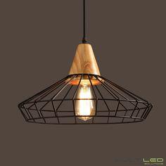 Lámpara de techo de aluminio y madera Modelo Doc...23,70€ en ➡️ www.ledahorro.com 💡💡 https://www.ledahorro.com/comprar/lampara-colgante-vintage-industrial-doc #ledahorro #led #ledlighting #ledstyle #lamparaled #ledlights #leddecoration #ledahorrocoleccion2018 #coleccion2018