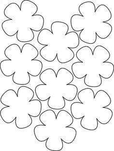 printable flower templates az coloring pages