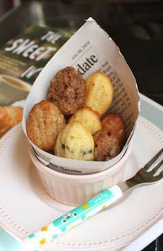 I adapted David Lebovitz's famous recipe to create 4 new madeleine flavors: chai, mocha, chocolate chip and lemon.