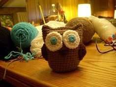 free pattern for Amigurumi owl