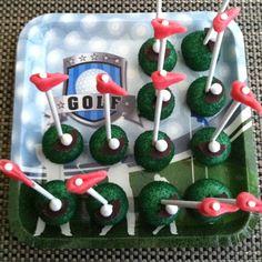 Golf cake pops!