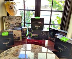 Yesterday at #PAXSouth the #NVIDIA #GeForce team had these prizes ready for the 2-day Golden Ticket hunt. by nvidia