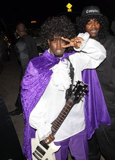 155afca0fe8 P. Diddy as Prince Best Celebrity Halloween Costumes
