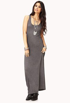Scoop Neck Maxi Dress | FOREVER21 - 2042264948