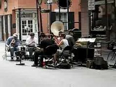 Live music in New Orleans Street - if you watch this video you will hear music, see dancing and also see some of the street - there is always great music, great people, great food and lots of shops.