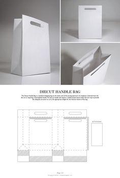 Diecut Handle Bag - Packaging & Dielines: The Designer's Book of Packaging Dielines