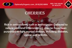 Cherries are the delicious way to fight against chronic diseases! #healthyeating #healthyliving