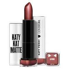 b9770993829 CoverGirl Katy Kat Matte Lipstick in Moonlight Mauve Fall Lipstick, Black  Lipstick, Liquid Lipstick