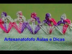 Caseado em crochê para fraldas - CROCHÊ 51 - PASSO A PASSO, My Crafts and DIY Projects