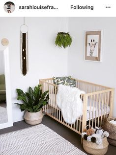 Botanical neutral unisex nursery Inspiration