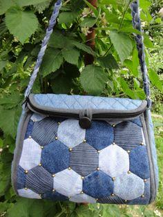 Hexagon patches bag By dublirina