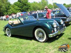 jaguar xk 140 Hudson British Car Show 2014 Les amateurs de voitures anglaises ont été choyés au  7e biannuel British Car Show à Hudson.