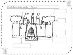 Proyecto Caballeros y Castillos Château Fort, Home Schooling, Spanish Language, Diy For Kids, History, Learning, Cardboard Castle, Medieval Castle, Knights