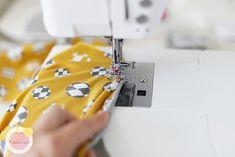 Kuinka huolitella pääntie kaksoisneulalla - Käsityökekkerit Sewing, Dressmaking, Couture, Stitching, Sew, Costura, Needlework