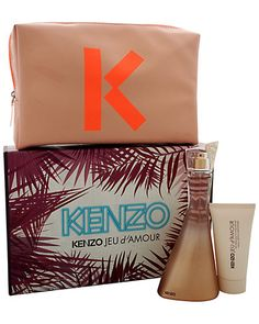 Rue La La — KENZO Men's KENZO Jeu d'Amour 3pc Gift Set Kenzo, Gift Sets For Women, Perfume Oils, Wish Shopping, Pomegranate, Fragrance, Pouch, Product Launch, Beauty
