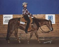 """2X AQHA World Champion in Western Pleasure - Miss Docs Melody. This amazing mare amassed over 800 AQHA points in her lifetime, multiple superiors, she is featured in Doug Carpenter's book """"Western Pleasure"""" AND she is the maternal grand-dam of the 2009 AQHA World Show Super Horse, The Krymsun Kruzer."""