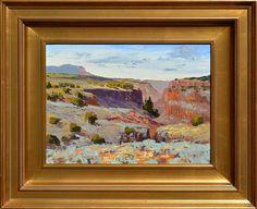 Ken Daggett, Canyon of the Rio Pueblo oil