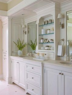 White-Bathroom-Design-Inspirations-22-1 Kindesign
