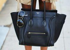 Bag lady Thursday #designerbags #fashion #accessories #bags #love #bagaddict #style #celine