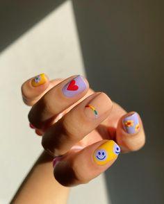Nail Design Stiletto, Nail Design Glitter, Nail Design Spring, Spring Nail Trends, Spring Nails, Summer Nails, Art Deco Nails, Acylic Nails, Nagellack Design