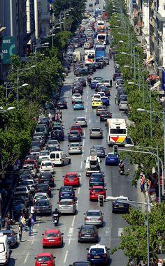 Beautiful #thessaloniki , even with traffic !