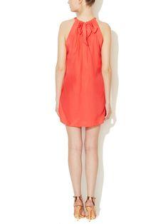 Sharon Silk Dress from Throw On
