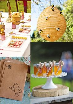 Best Baby Shower Winnie The Pooh Theme Bee Hives 49 Ideas Winnie The Pooh Themes, Vintage Winnie The Pooh, Winnie The Pooh Birthday, Baby 1st Birthday, First Birthday Parties, Birthday Party Themes, First Birthdays, Birthday Ideas, Baby Shower Decorations For Boys