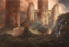 Neo-Samarkand, Christophe Vacher on ArtStation at https://www.artstation.com/artwork/rBE0m