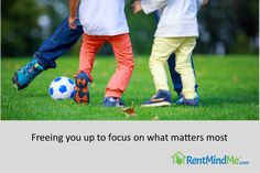 Focus on what matters most to you! RentMindMe frees you up to live life on your terms. Focus On What Matters, What Matters Most, To Focus, Virtual Assistant, Property Management, Being A Landlord, Live Life, Diy, Bricolage
