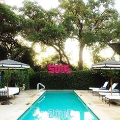 Hotel Saint Cecilia boutique hotel, Austin Texas