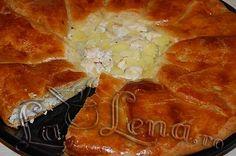 Placinta cu cartofi si carne Romanian Food, Deserts, Puddings, Recipes, Desserts, Pudding, Postres, Recipies, Ripped Recipes
