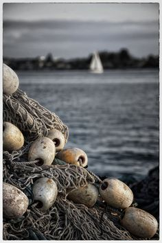 Nets and Buoys, San Diego | by Veronique AUBOIS-MANN, via 500px.