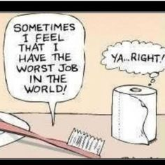 How bad do you work your toothbrush? Kids should brush at least twice a day to rid your mouth of plaque and food particles. #humor #dentist