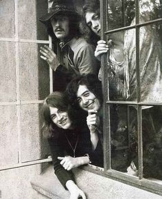 Led Zeppelin (Jimmy Page, Robert Plant, John Bonham, John Paul Jones)- http://www.youtube.com/watch?v=iP9xMobANJM