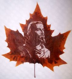 Cool Leaf Carving Art | Cool Things | Pictures | Videos