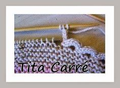 I-Cord - Um acabamento em tricot muito legal...