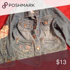 Osh Kosh girls jean jacket Osh Kosh girls jean jacket size 3t Osh Kosh Jackets & Coats Jean Jackets