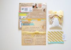 Gorgeous Hand Written Letters <3 love these!!